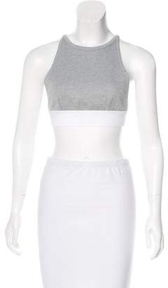 Alexander Wang Halter Crop Top