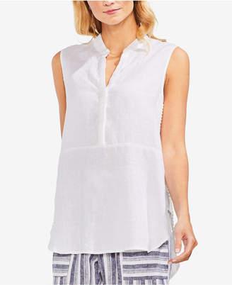 Vince Camuto Sleeveless Linen Shirt