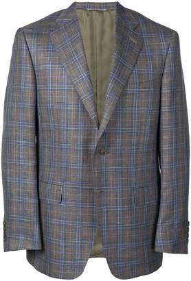 Canali houndstooth pattern blazer