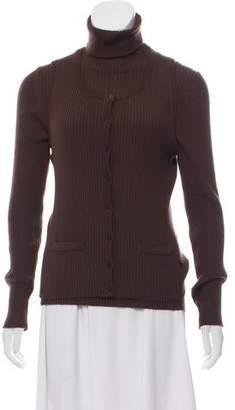 Emilio Pucci Merino Wool Cardigan Set
