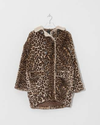 R 13 Leopard Hunting Coat