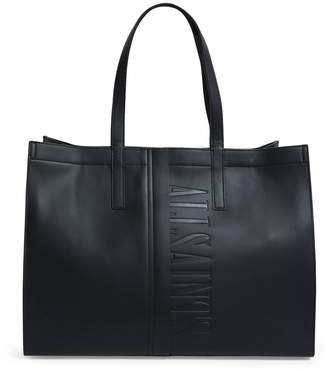 AllSaints Nina East West Leather Tote Bag