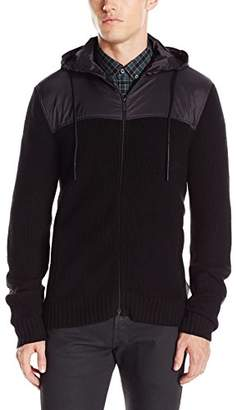 Kenneth Cole Reaction Men's Chunky Marled Hoody