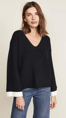 J.o.a. Scoop Neck Sweater