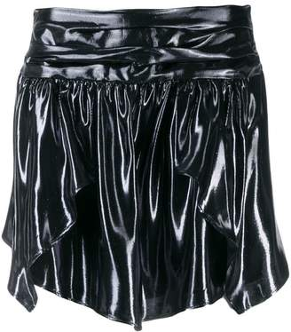 Isabel Marant metallic mini skirt