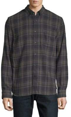Joe's Jeans Picciano Plaid Button-Down Shirt