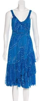 Diane von Furstenberg Ada Silk Midi Dress
