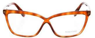 Tom Ford Tortoiseshell Square Eyeglasses