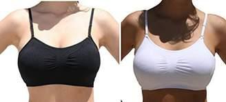 Anémone Women's Seamless Removable Bra Straps 2pk or 3pk