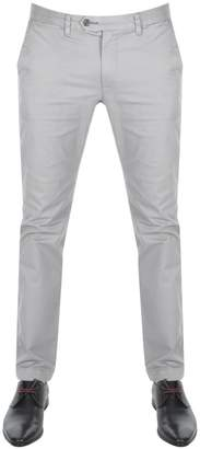 Ted Baker Seenchi Slim Fit Chinos Grey