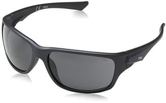 Fila Men's SF9129 Sport Sunglasses, Grey, mm