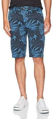 Margaritaville Men's Tropical Leaf Printed Short