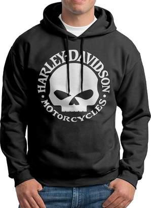 Sarah Men's Harley Davidson Logo Hoodie L