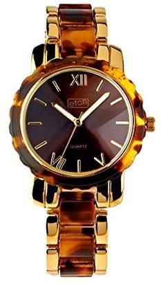 Eton Womens Analogue Classic Quartz Watch with None Strap 3176J-BKRG