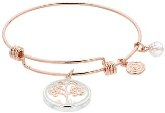 Love This Life love this life Family Tree Shaker Bangle Bracelet