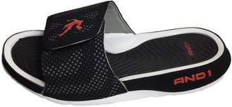 AND 1 Men's Athletic Enigma Slide Slippers (9, )