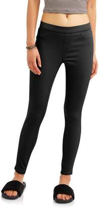 No Boundaries Juniors' Mid-Rise Pull-On Jeggings (Color & Denim Washes)
