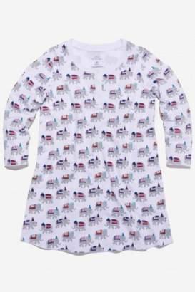 Roberta Roller Rabbit Party Animal Nightgown-Girls