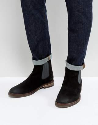 Steve Madden (スティーブ マデン) - Steve Madden Teller Suede Chelsea Boots In Black