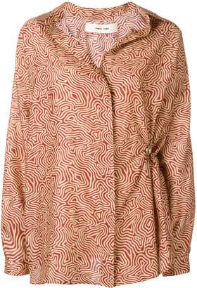 Damir Doma Sonje abstract print shirt