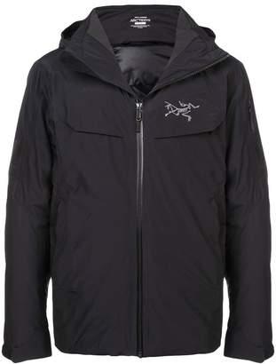 Arc'teryx zipped hooded jacket