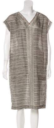 Max Mara Weekend Printed Silk Dress