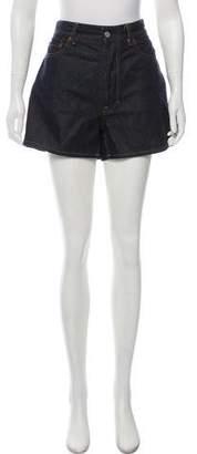 Acne Studios Denim Mini Shorts
