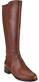 Judith Ripka Leather Tall Shaft Boots -Victoria
