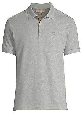 9a4679f79b55 Burberry Gray Men s Polos - ShopStyle