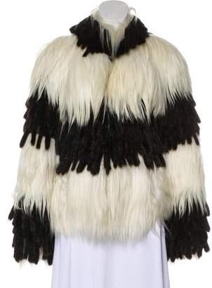 Fendi Goat and Mink Jacket
