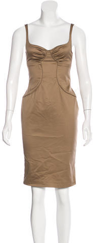 GucciGucci Satin Bodycon Dress