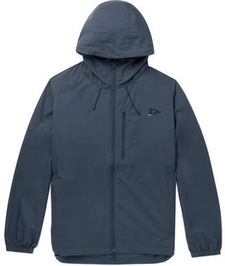 Pilgrim Surf + Supply Packable Water-Repellent Nylon Hooded Jacket