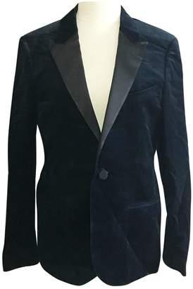 Lanvin Blue Velvet Jackets