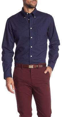 Brooks Brothers Mini Foulard Print Regent Fit Oxford Shirt