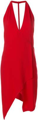 IRO deep V-neck dress