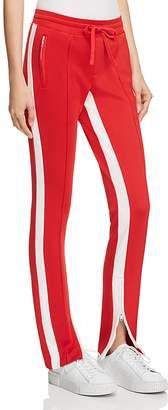 Pam & Gela Zip-Hem Cigarette Track Pants