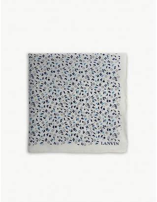 Lanvin Pick 'n' Mix silk pocket square