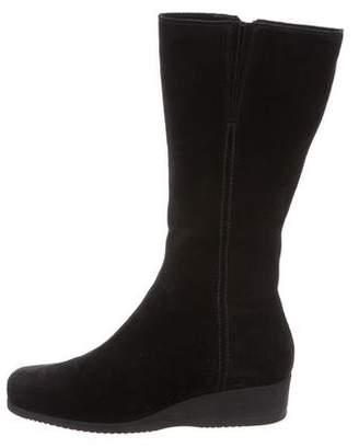 La Canadienne Suede Mid-Calf Boots
