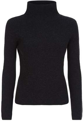 Lorena Antoniazzi Lurex Roll Neck Cashmere Sweater
