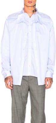 Y/Project Skinny Shirt in Blue | FWRD