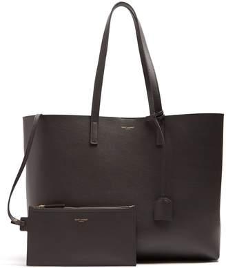 Saint Laurent East West medium leather tote