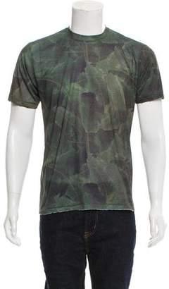 Baja East Leaf Print T-Shirt