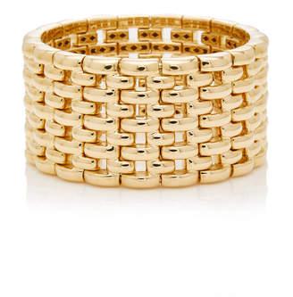 Sidney Garber Yellow Gold Mosaic Bracelet