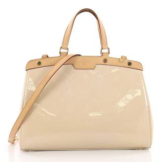 Louis Vuitton Brea Patent Leather Crossbody Bag