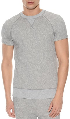 2(X)IST Terry Short Sleeve Sweatshirt $58 thestylecure.com