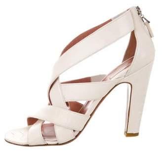 Alaia Ostrich Leg Sandals