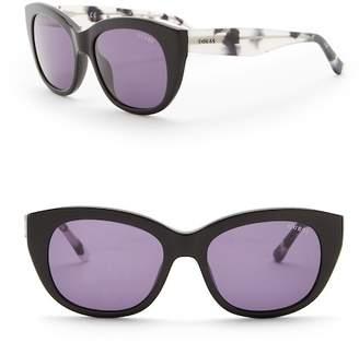 GUESS 53mm Cat Eye Sunglasses