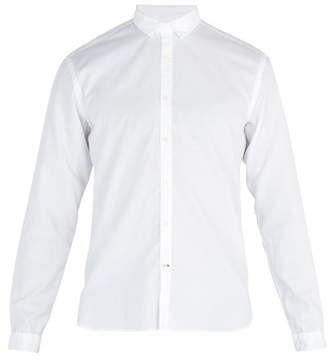 Oliver Spencer Clerkenwell Tab Cotton Oxford Shirt - Mens - White