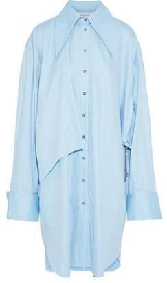 Marques Almeida Marques' Almeida Embellished Oversized Cotton-Twill Shirt Dress