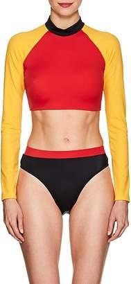 Solid & Striped Women's Malibu Cropped Rashguard